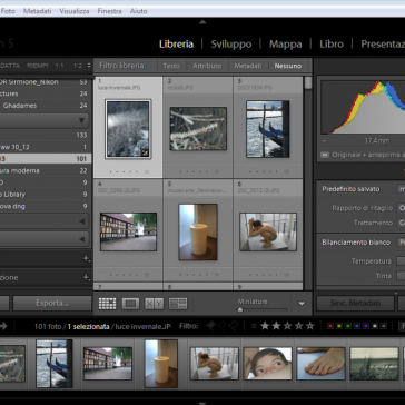 Lightroom Applicare i Predefiniti