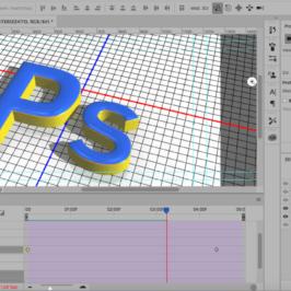 Photoshop Creare un Logo 3D e Animarlo