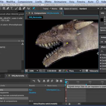 After Effects CC Animazioni ed Effetti con lo Strumento Marionetta