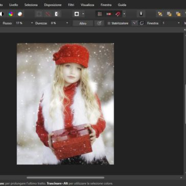 Affinity Photo Effetto High Key Morbido