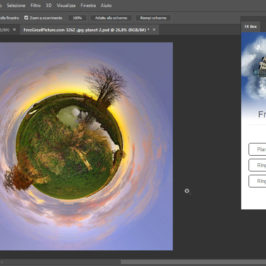 Photoshop Plug-in Polar Projection