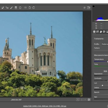 Editing Combinato in Lightroom e Photoshop