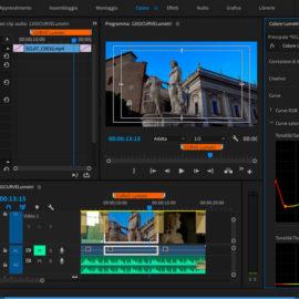 Le nuove curve saturazione tinta di Premiere Pro CC 2019