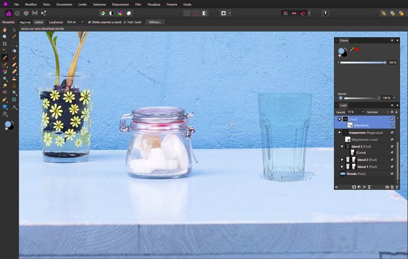 Creare-una-trasparenza-del-vetro-di-un-bicchiere-in-Affinity-Photo_5