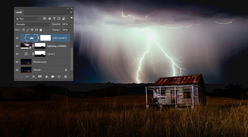 Sostituire-il-cielo-notturno-in-Photoshop_2