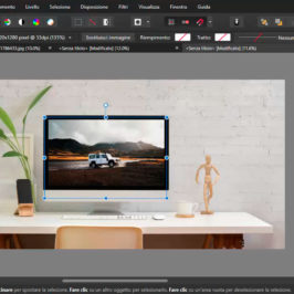 Creare modelli in Affinity Photo 1.8