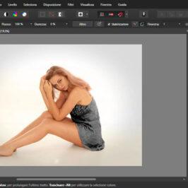 Sostituire i colori con il pennello sostituzione colori in Affinity Photo