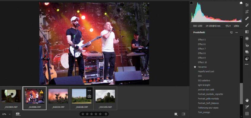 Creare un predefinito adattivo ISO in Adobe Camera Raw