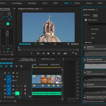 Premiere Pro e Audio Stock